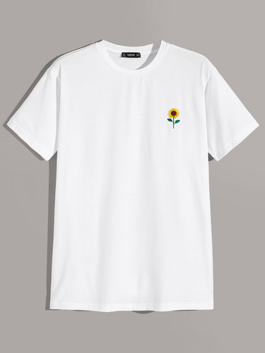 T-shirt Girasole black/white