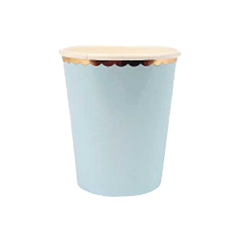 Copy of Pastel Baby Blues Paper Cups | Modern Party
