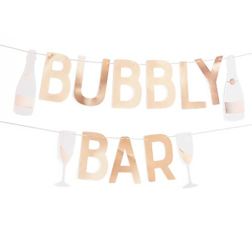Cakewalk - Bubbly Bar Garland by Cakewalk