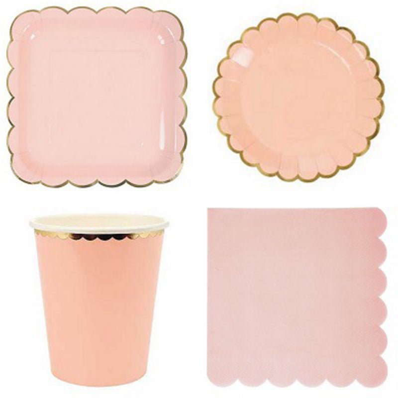Baby Peach Napkins | Modern Party Supplies