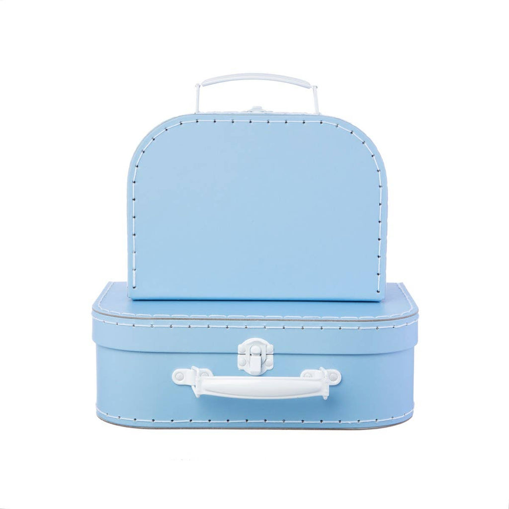 Sass & Belle - Pastel Blue Suitcases - Set of 2