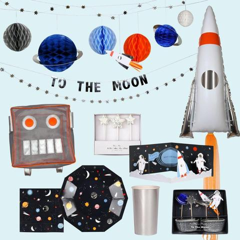 Cup The Moon Rocket Cups