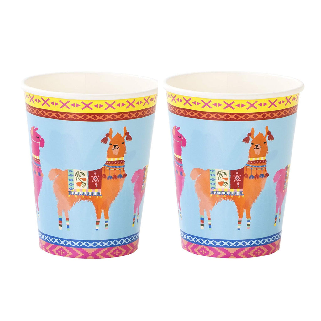 Llama Party Supplies | Boho Llama Cups | Modern Party Supplies