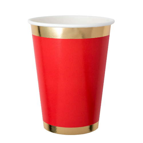 Cup Red Ruby & Gold Cup