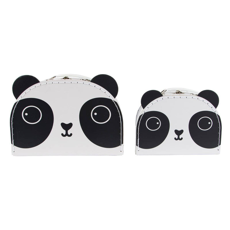 Aiko Panda Kawaii Friends Suitcases - Set of 2