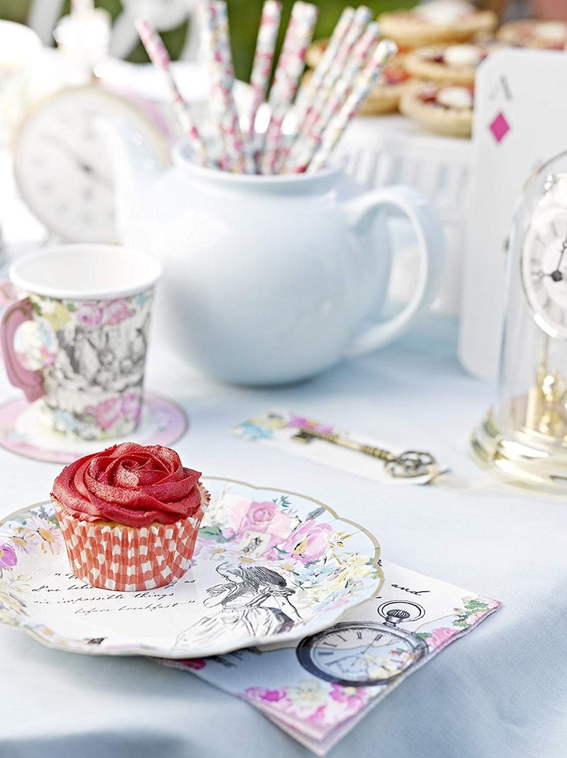 Alice in Wonderland Plate Tea Party | Modern Party Supplies | Crafty Party Design