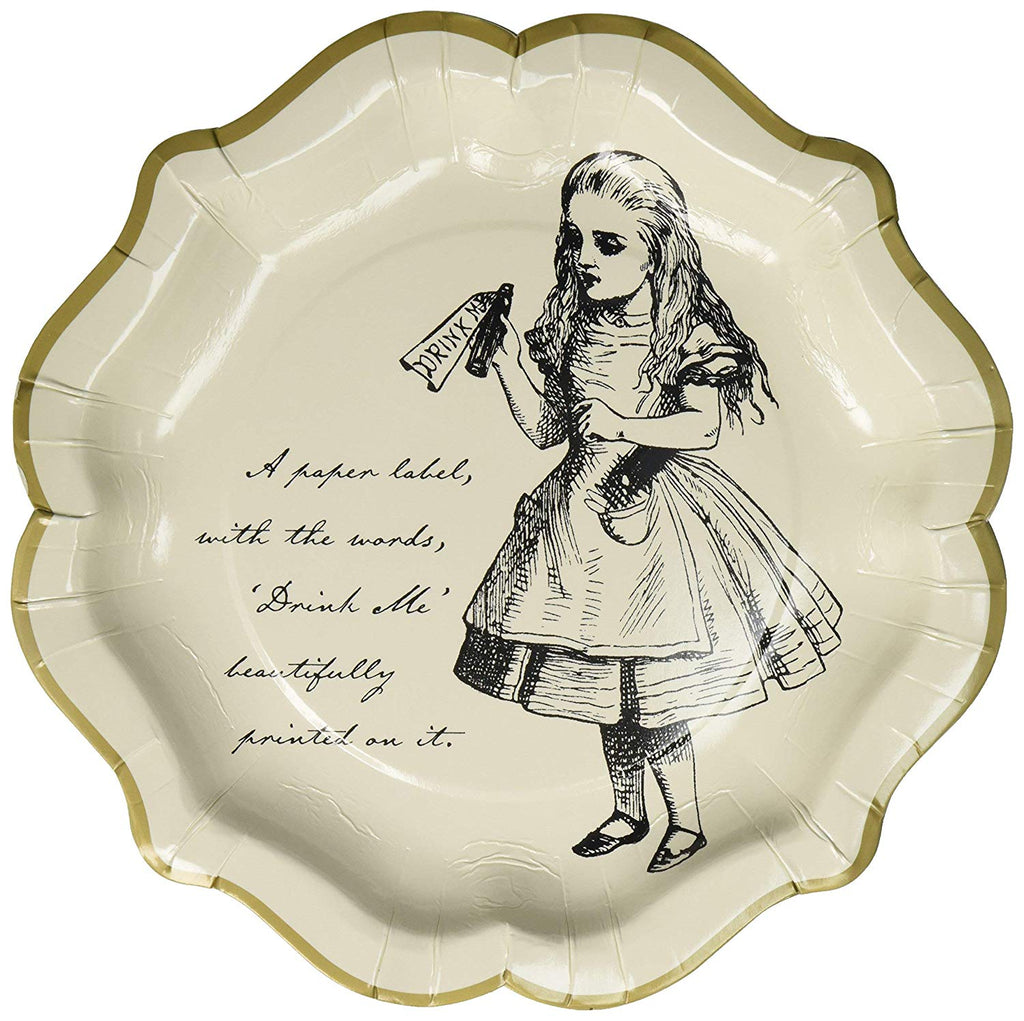 Alice in Wonderland  Dainty Plates | Crafty Party Design