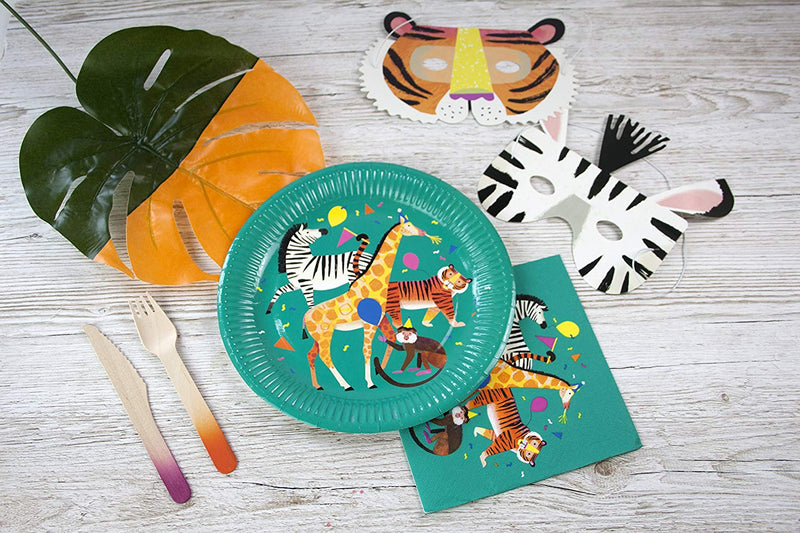 Party Animals Plate  | Party Supplies | Modern Party