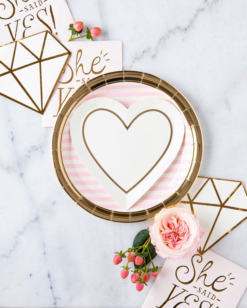 Diamond Napkin | Modern Bride Party Supplies