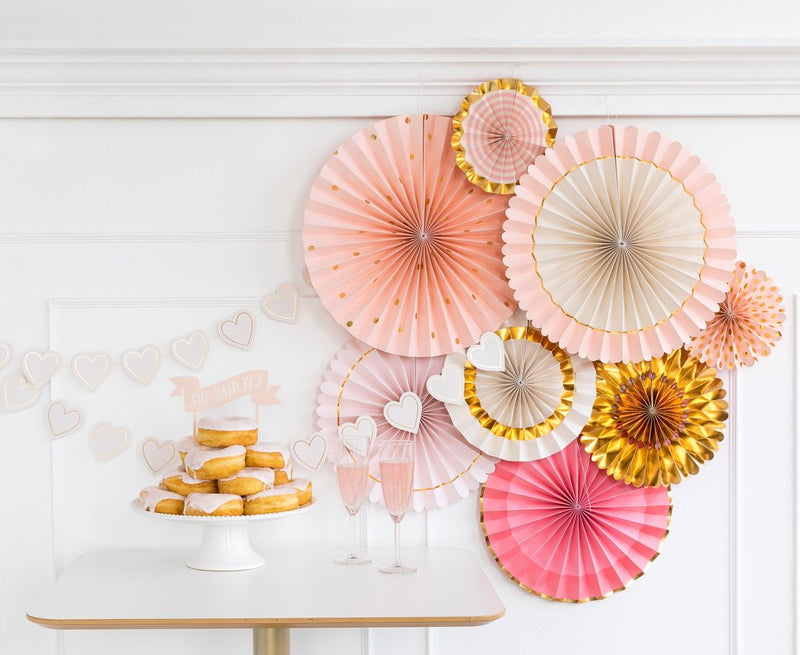 Bride  To Be Party Fans | Bride to Be Fans - Party Decoration Fan Set