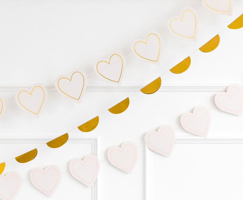 Heart Banner |She Said Yes | Modern Bride Party Supplies