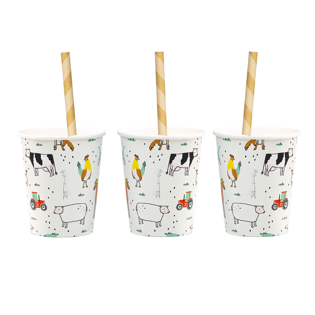 Farm Animals Cup | Modern Party Supplies