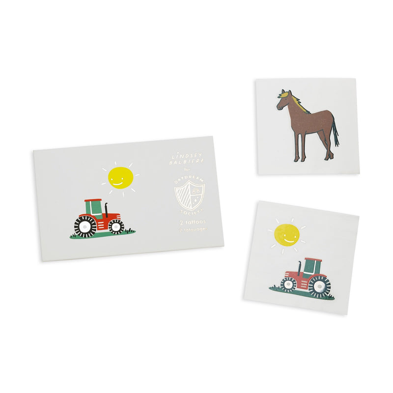 Farm Animals Temporary Tattoos | Farm Party | Farm Party Supplies