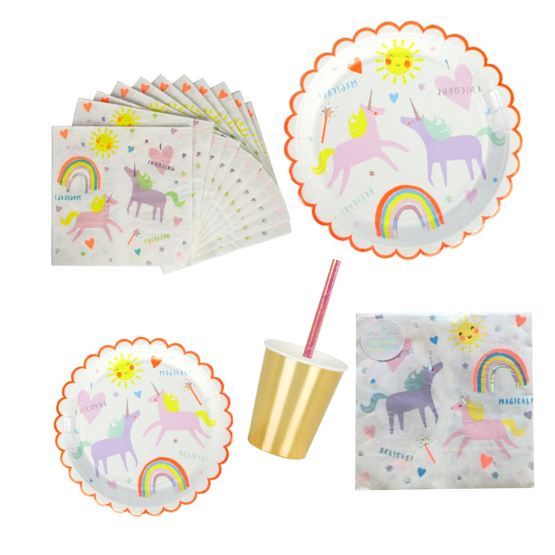 Small Napkins Unicorn  Magical Rainbow