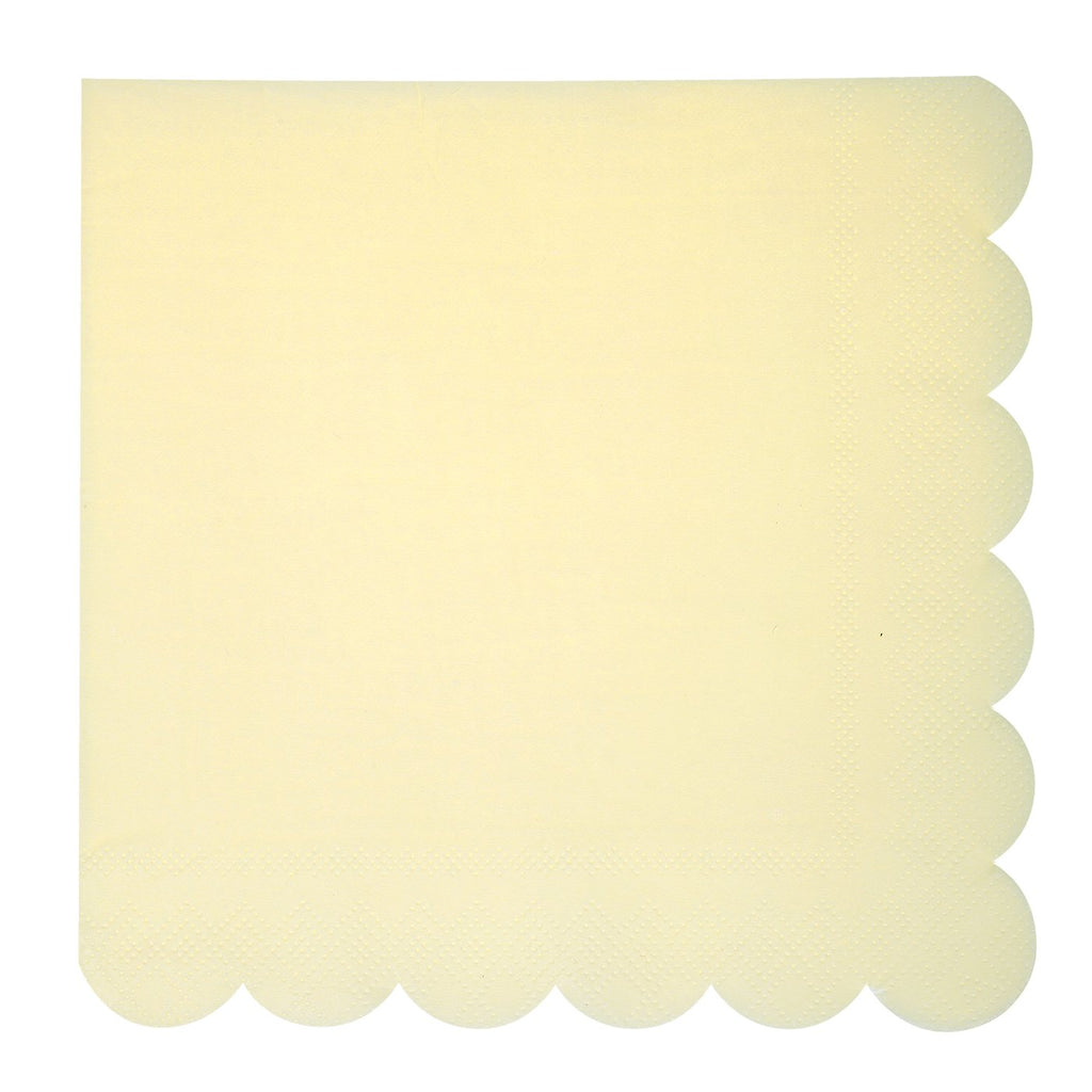 Baby Yellow  Napkins | Modern Party Supplies