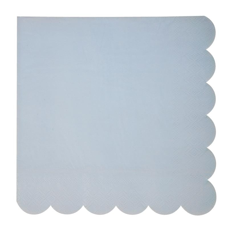 Baby Blue Napkins | Modern Party Supplies | Crafty Party Design