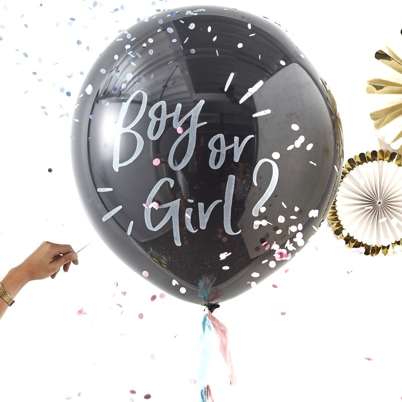 Giant Gender  Revel  Boy or Girl ?  Balloon Kit  - OH BABY! | Crafty Party Design | Giant Balloons Gender Reveal