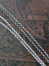Load image into Gallery viewer, 2.4mm Chain,  Longer, heavier, Sterling Silver Rolo Chain.