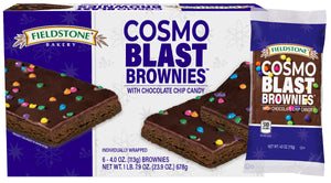Cosmo Blast Brownies