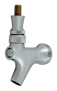 Beer Faucet, Chrome Plated W/ Brass Lever (krome Dispense)