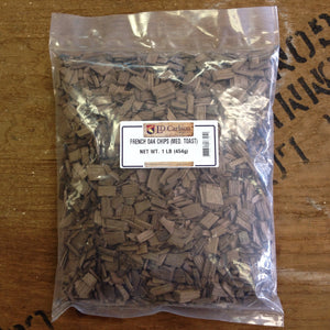 French Oak Chips, Medium Toast