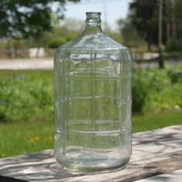 6 Gallon Glass Carboy - Ribbed Sides