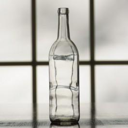 750 ml Clear Bordeaux Bottle, Case of 12