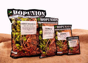 Hopunion UK First Gold Hop Pellets
