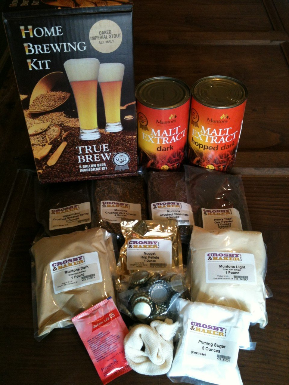 Oaked Imperial Stout Beer Ingredient Kit