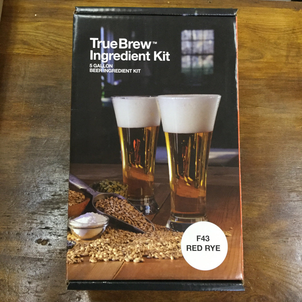 Red Rye TrueBrew™ Beer Ingredient Kit