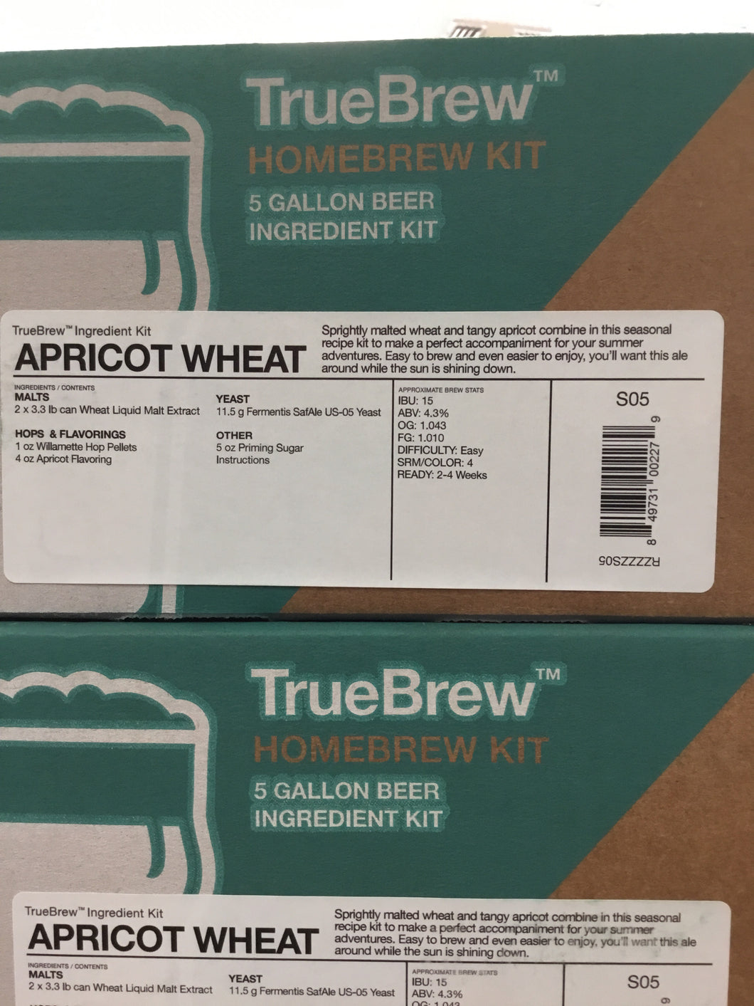 TrueBrew Apricot Wheat Kit