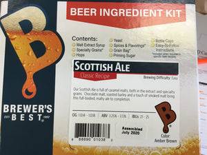 BrewersBest Scottish Ale Kit