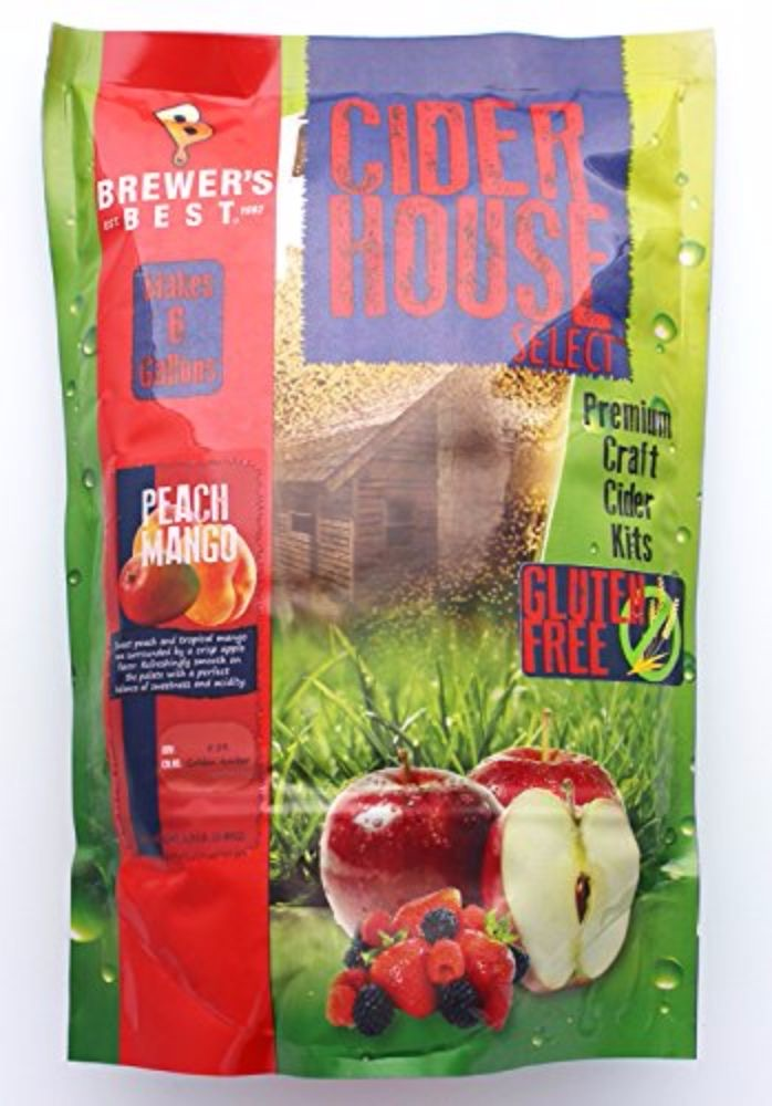 Cider House Craft Cider Kit- Peach Mango