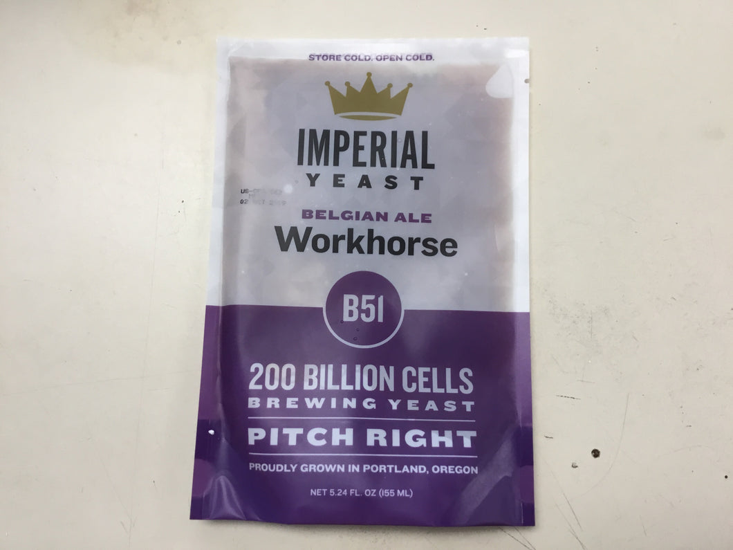 Imperial Organic Yeast-Workhorse-B51