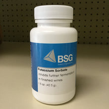 Load image into Gallery viewer, Potassium Sorbate 1.5oz