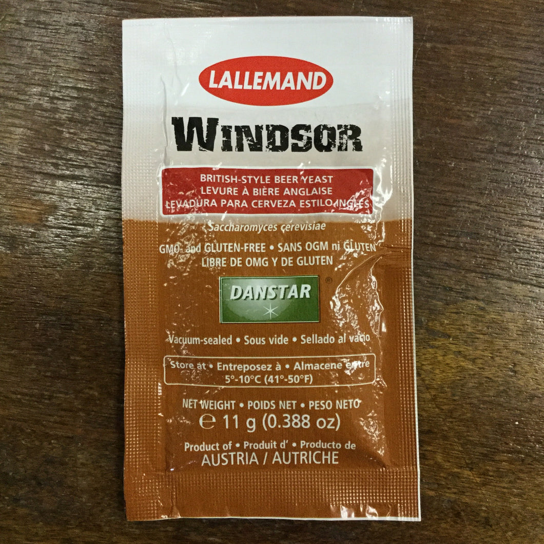 Windsor Yeast, 11 gm