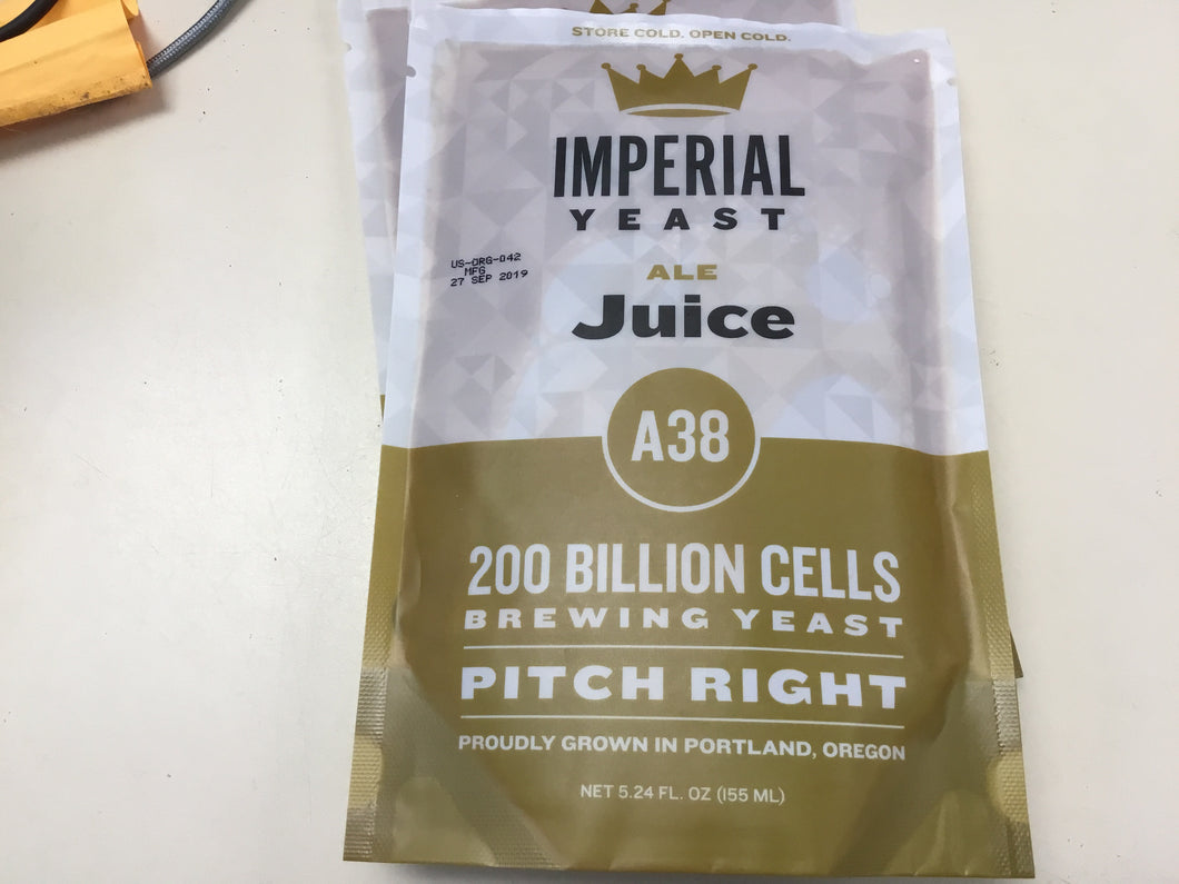 Imperial Organic Yeast-Juice-A38