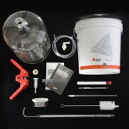 Beer Equipment Kit with 5 Gallon Glass Carboy