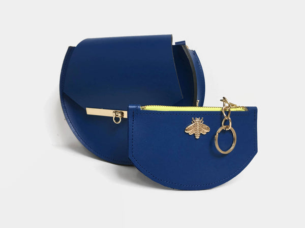Bee wallet in royal
