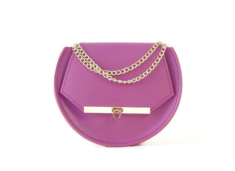 Loel mini crossbody bag in lavender / More colors