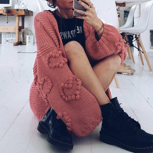 Cozy Heart Cardigan