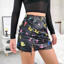 Load image into Gallery viewer, Rainbow Butterfly Skirt - yourbabezboutique
