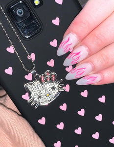 Hello Kitty Rhinestone Necklace