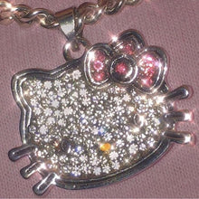 Load image into Gallery viewer, Hello Kitty Rhinestone Necklace