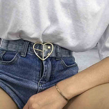 Load image into Gallery viewer, Transparent Heart Belt - yourbabezboutique