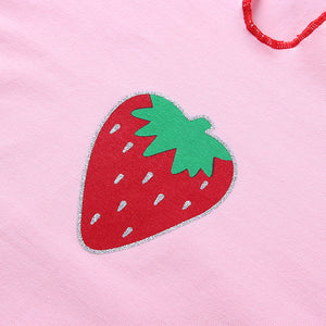 Strawberry Top - yourbabezboutique