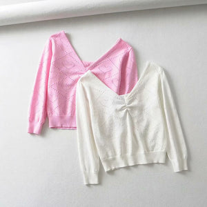Pink Heart Sweater - yourbabezboutique
