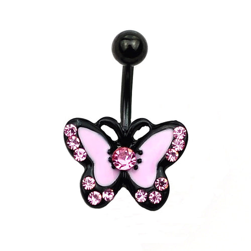 Mini Butterfly Belly Button Ring