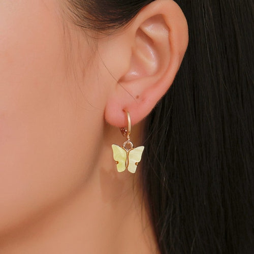 Butterfly Stud Earrings - yourbabezboutique