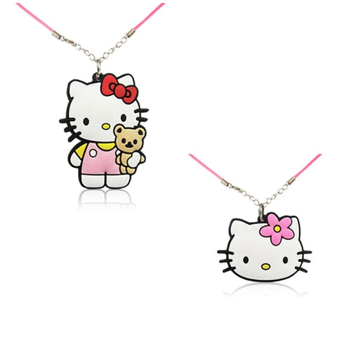 Kiddy Kitty Necklace Set